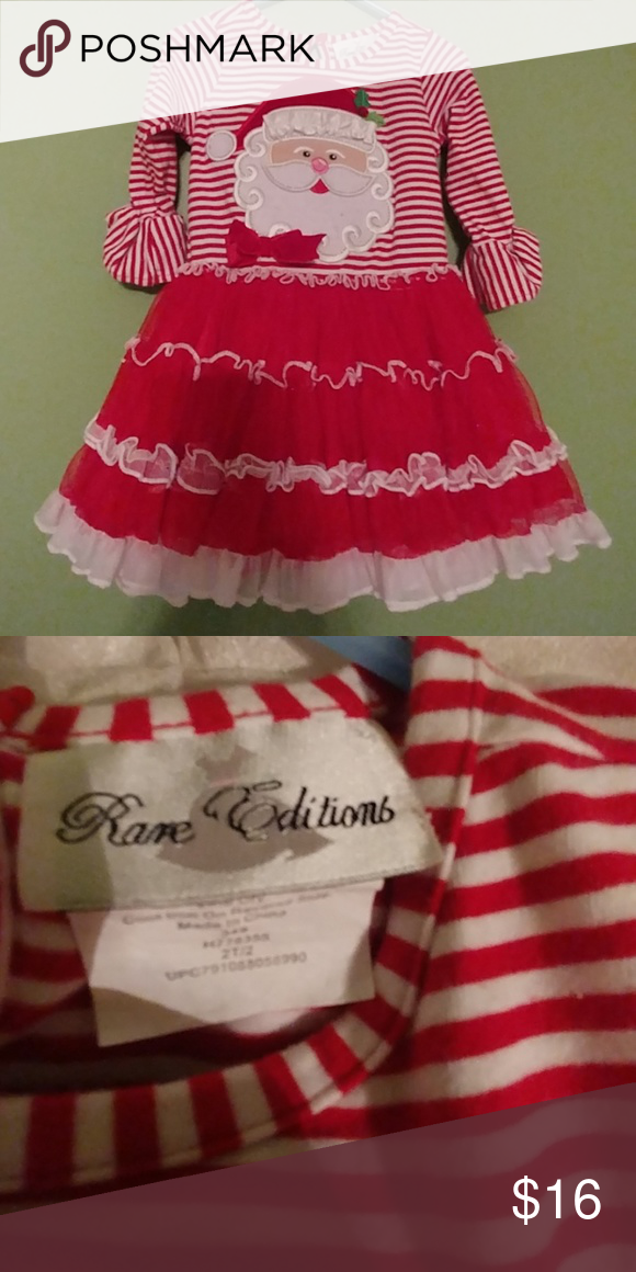 Rare Editions Christmas Dresses.Rare Editions Santa Dress Size 2t The Most Beautiful