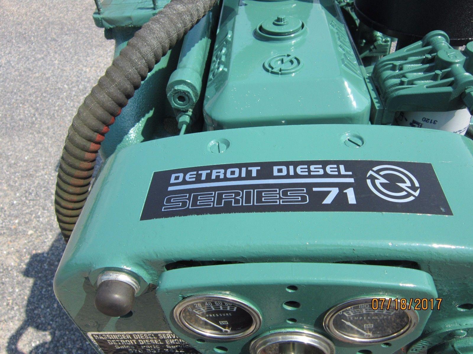 Detroit Diesel 4 71n Power Unit In Business Amp Industrial