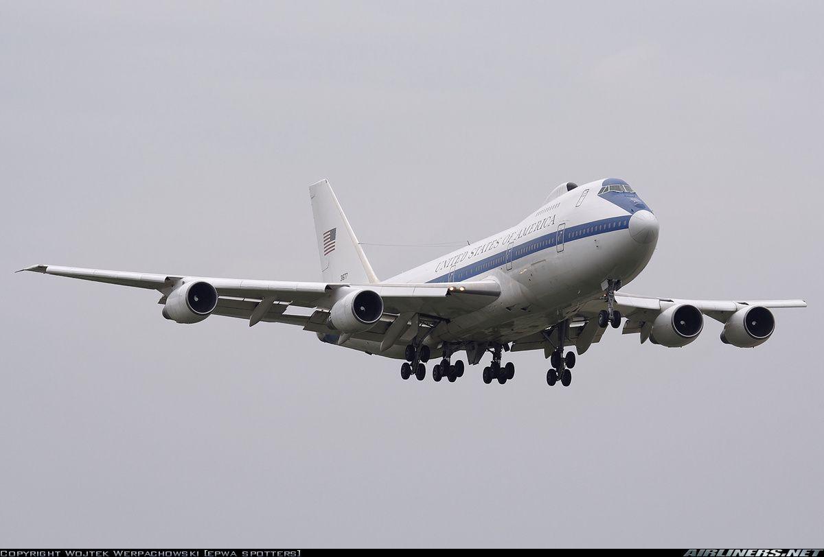 Boeing E-4B (747-200B) - USA - Air Force | Aviation Photo #1206731 | Airliners.net | Air force. Boeing. Aviation
