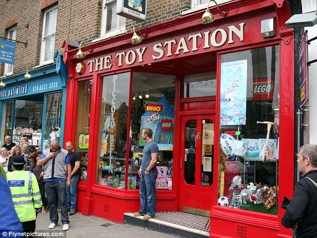 Toy Store Front