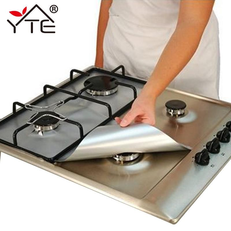 Gas Stove Protectors 1pc Reusable Gas Stove Burner Cover Liner Mat Fire Injuries Protection Trivets Kitchen Specialty Tools Trivets In 2019 Gas Stove Burne