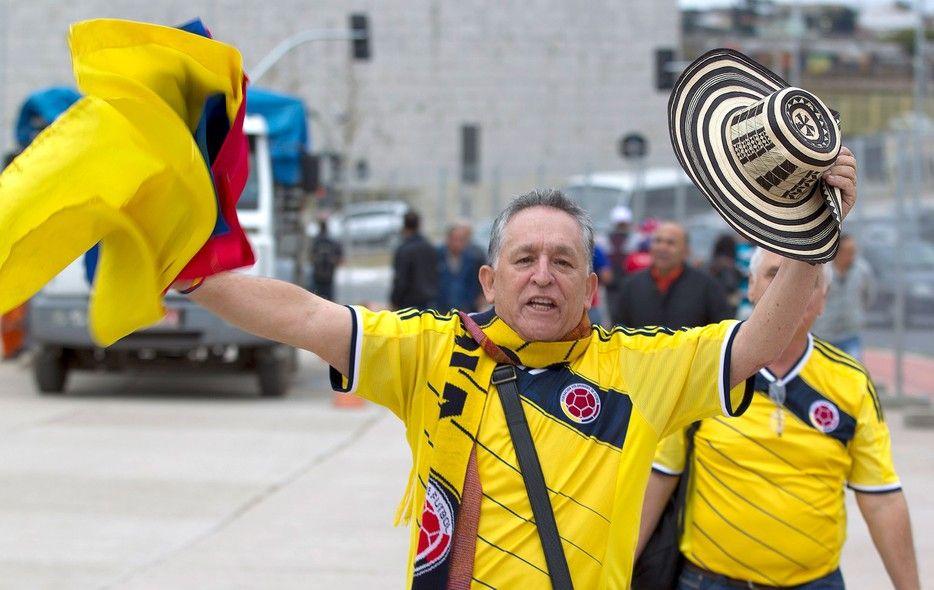 globoesporte - FOTOS: torcedores tomam conta das ruas no clima da Copa do Mundo - fotos em copa do mundo