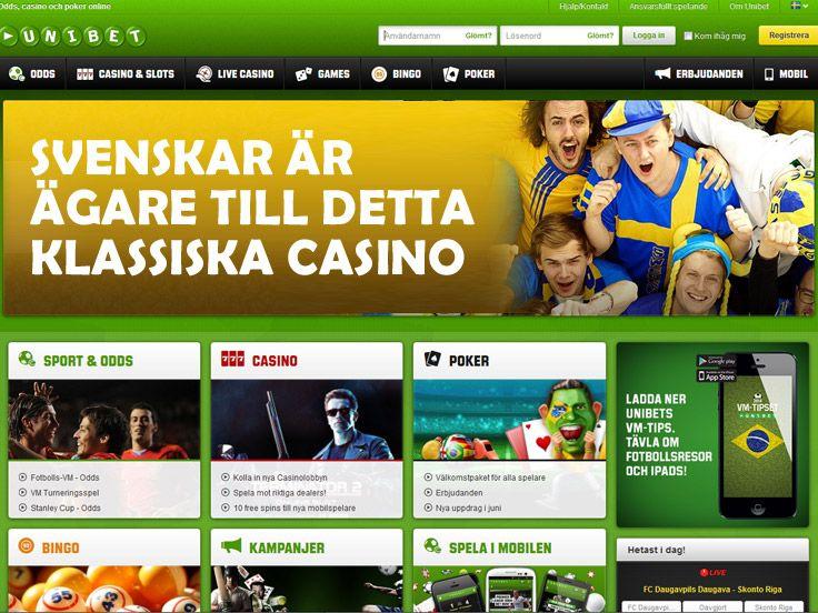 Unibet är ett casino med svenska ägare och många spel! http://www.casino.se/svenska-casinon