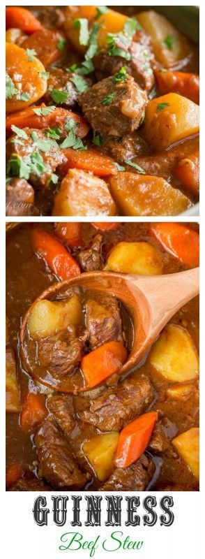 Guinness Beef Stew Recipe - Saving Room for Dessert