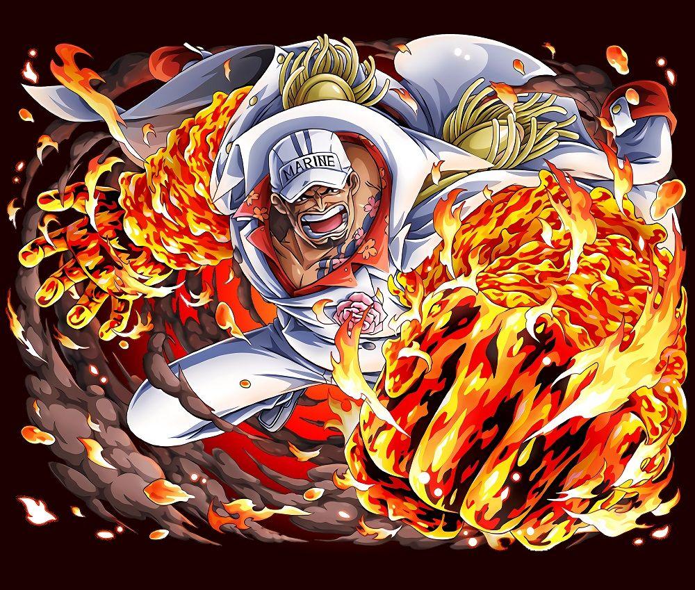 Fleet Admiral Akainu - One Piece in 2020 | One piece wallpaper iphone, One piece series, One ...