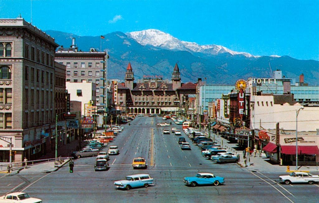 Maybe Pikes Peak Hasn T Changed Much In 50 Years But Colorado Springs Sure Has