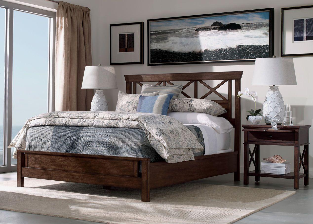 Dexter Bed - Ethan Allen | Simple bedroom, Bedroom interior