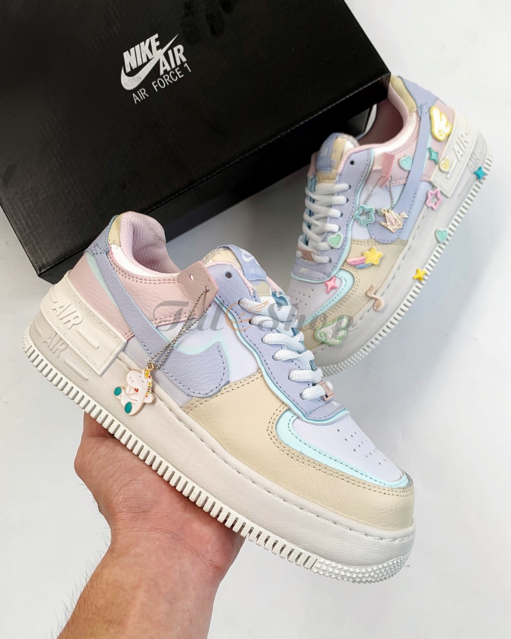 Giay Nike Air Force 1 Shadow Macaroon Candy đẹp đủ Phụ Kiện Nike Air Force Nike Air Nike Shop our selection of nike today! nike air force 1 shadow macaroon candy