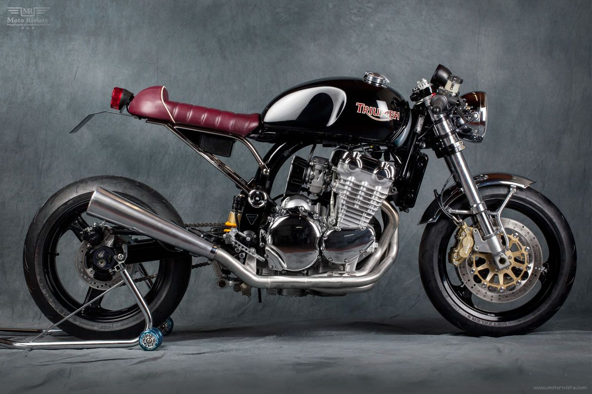 Triumph Legend TT, Cafe Racer by Mr. Martini | Moto Rivista