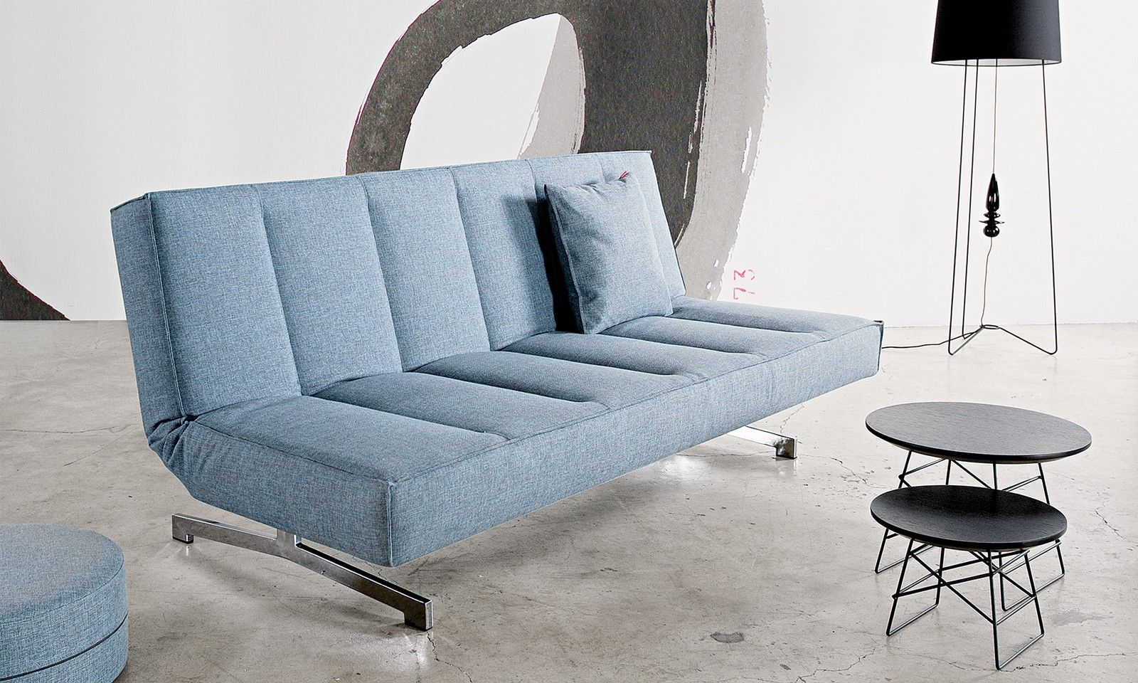 Innovation Sessel Innovation Odin Klappsofa Chrome 525 Schlafsofas Möbel