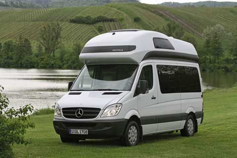 Westfalia are best known for their conversion of vw camper for Mercedes benz camper van conversion