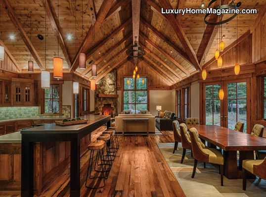 Lhm Lake Tahoe Luxury Tahoe Cabin Luxuryhomes Cabin Woodwork