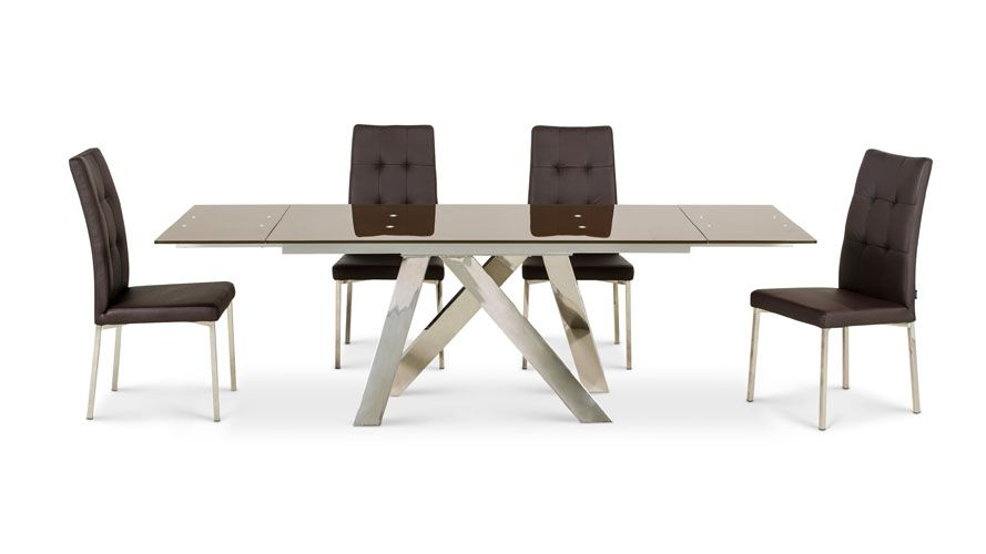 Cruz Extension Dining Table Brown Dining Table Dining Table