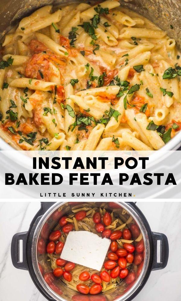 Instant Pot Baked Feta Pasta