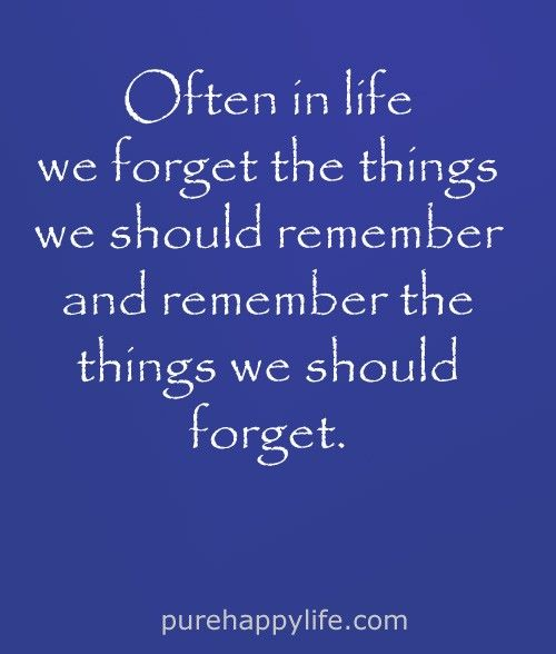 Life Quote Often In Life We Forget The Things We Should Life Quotes Love Life Quotes Meaningful Quotes