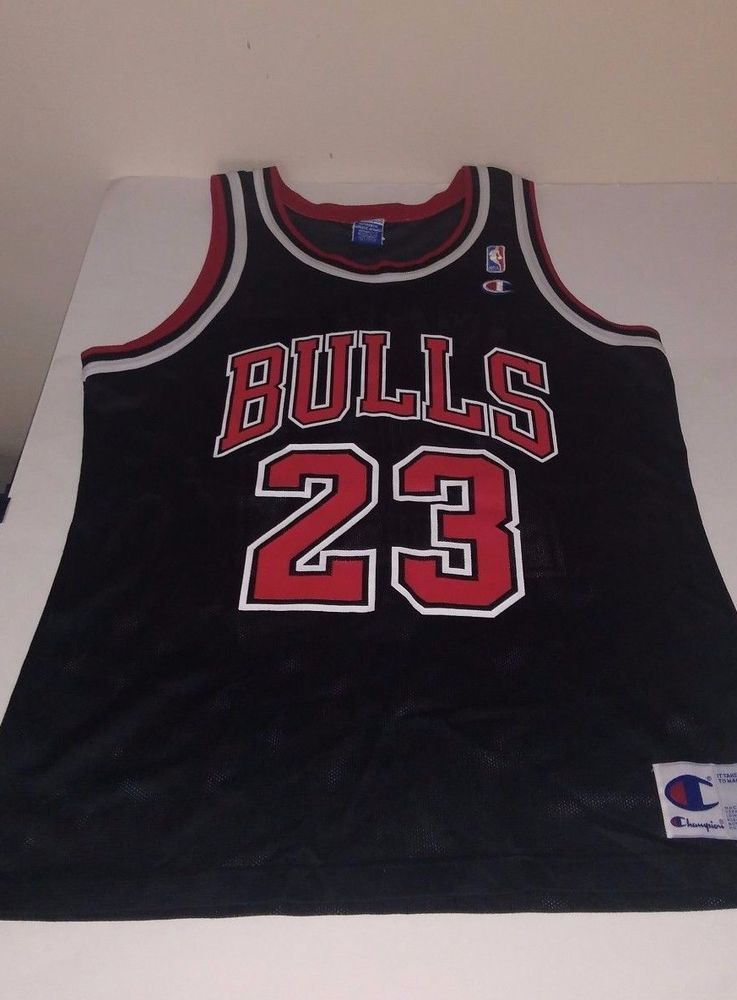 b2bc04b449c Vintage Michael Jordan Chicago Bulls Champion Authentic Jersey #Champion  #ChicagoBulls