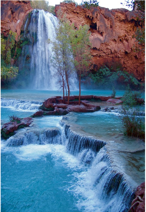 Havasu Falls, Grand Canyon National Park.