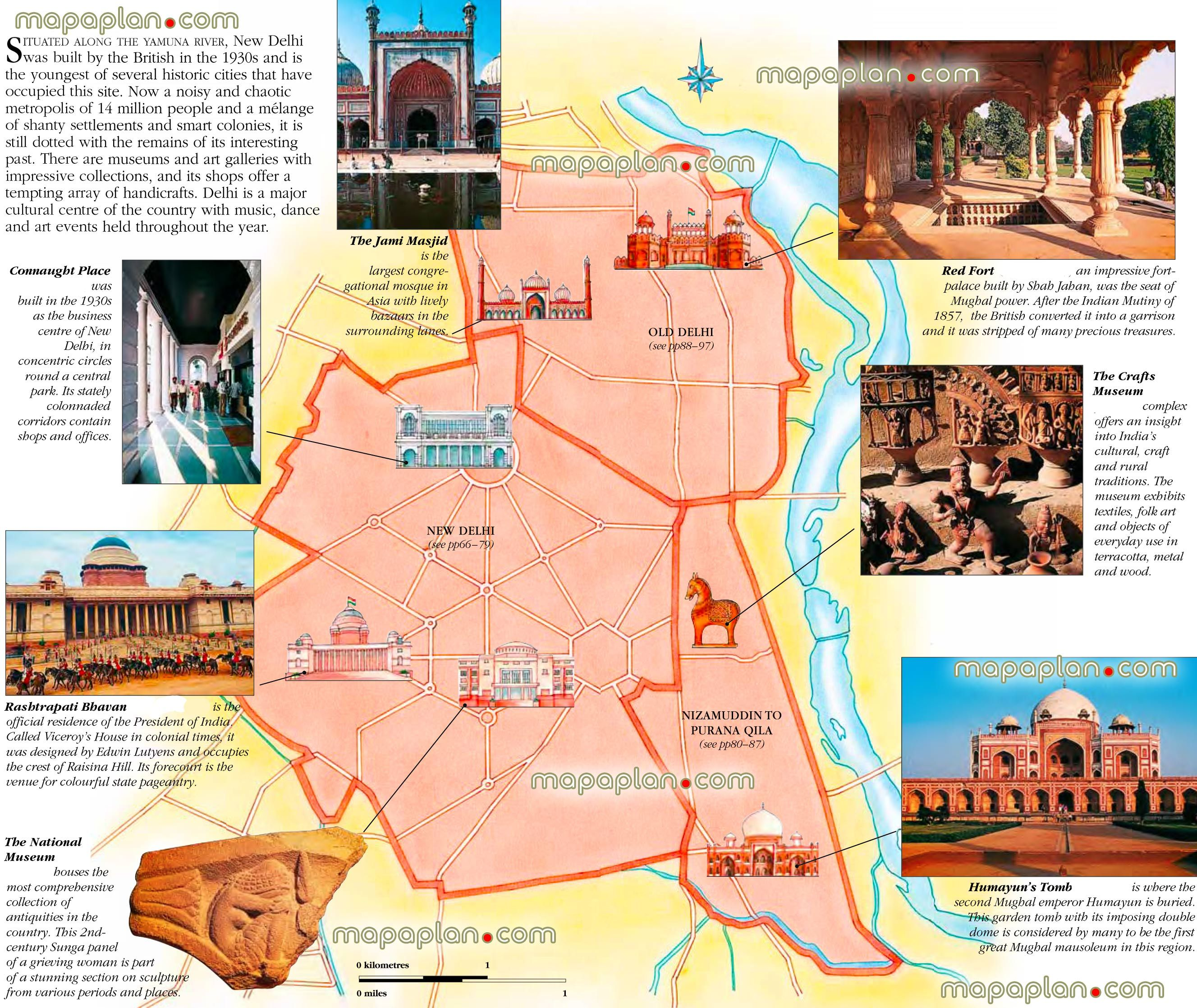 delhi city centre free travel guide top 10 must see sights best – Virtual Travel Map