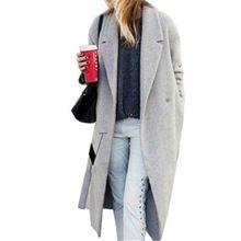 Manteau de laine automne hiver cachemire