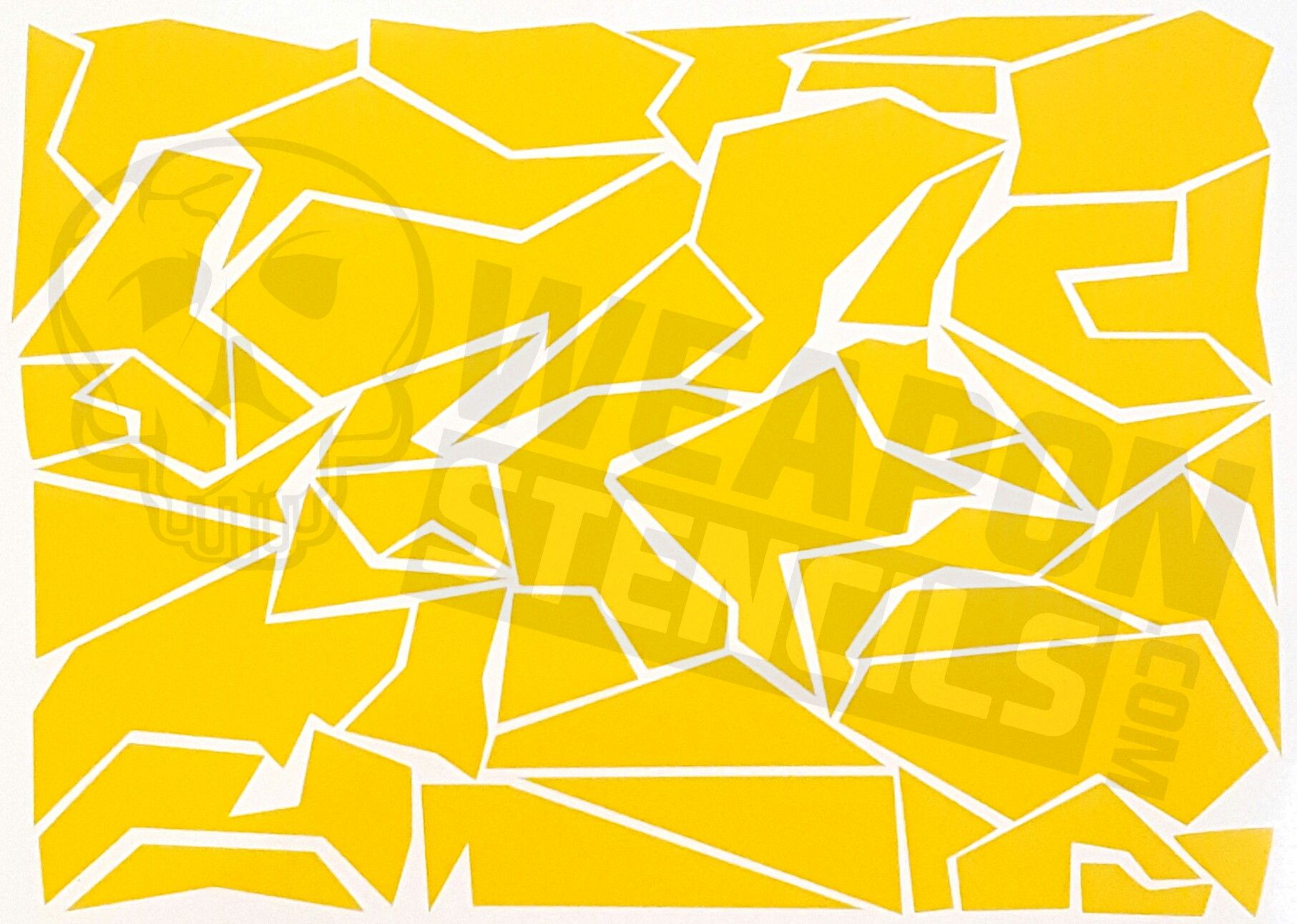 Splinter camo weapon stencils camo ideas pinterest camo splinter camo stencil inch sheet of heat resistant adhesive vinyl material amipublicfo Choice Image