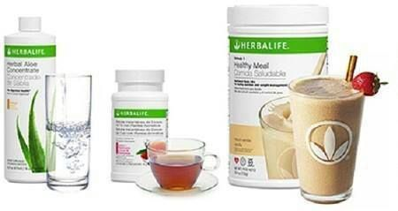 shake to lose weight herbalife Herbalife Aloe for digestionHerbal Tea for energy  a yummy protein shake Delivers a 123 punch