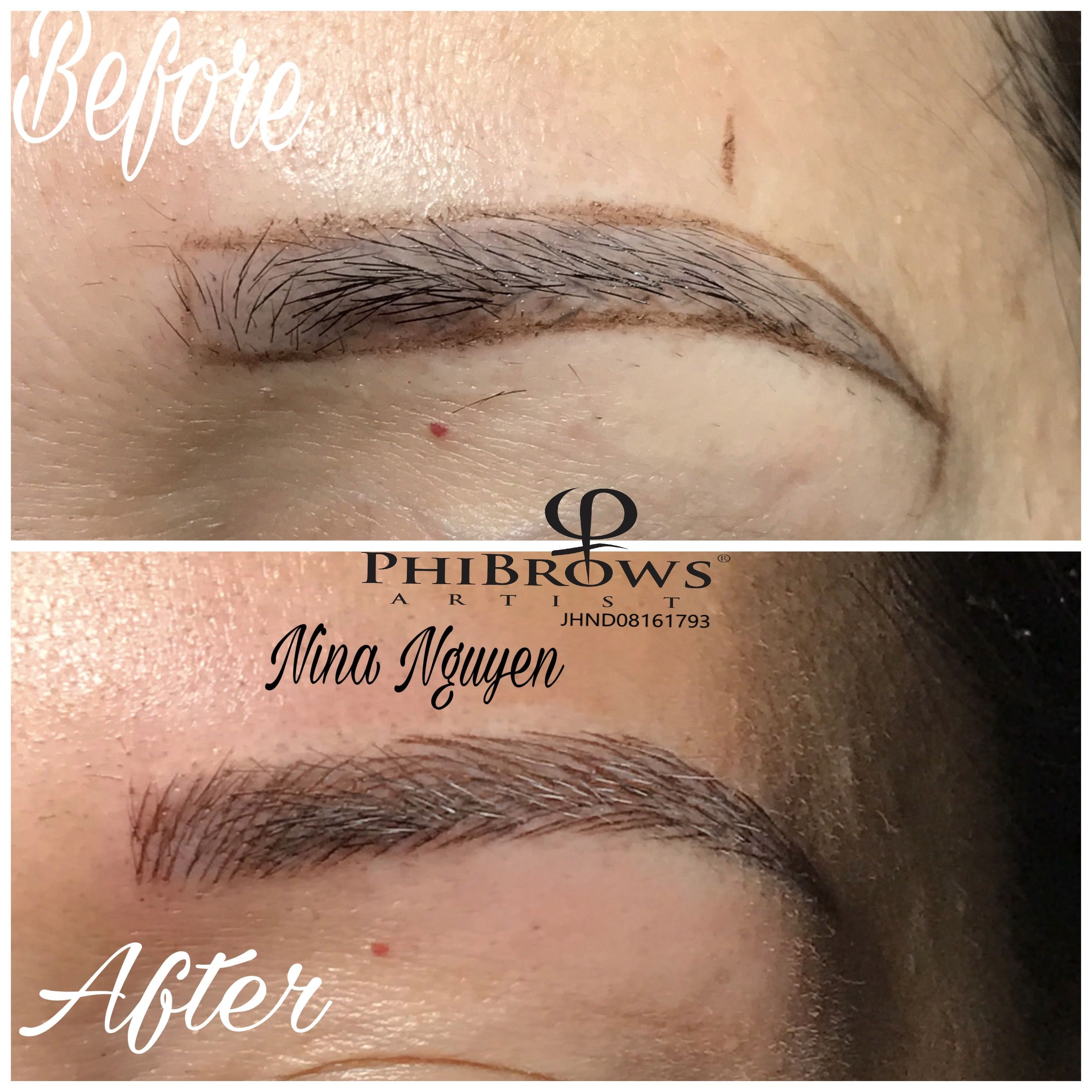 Pin By Nina Nguyen On 3d Microblading Pinterest