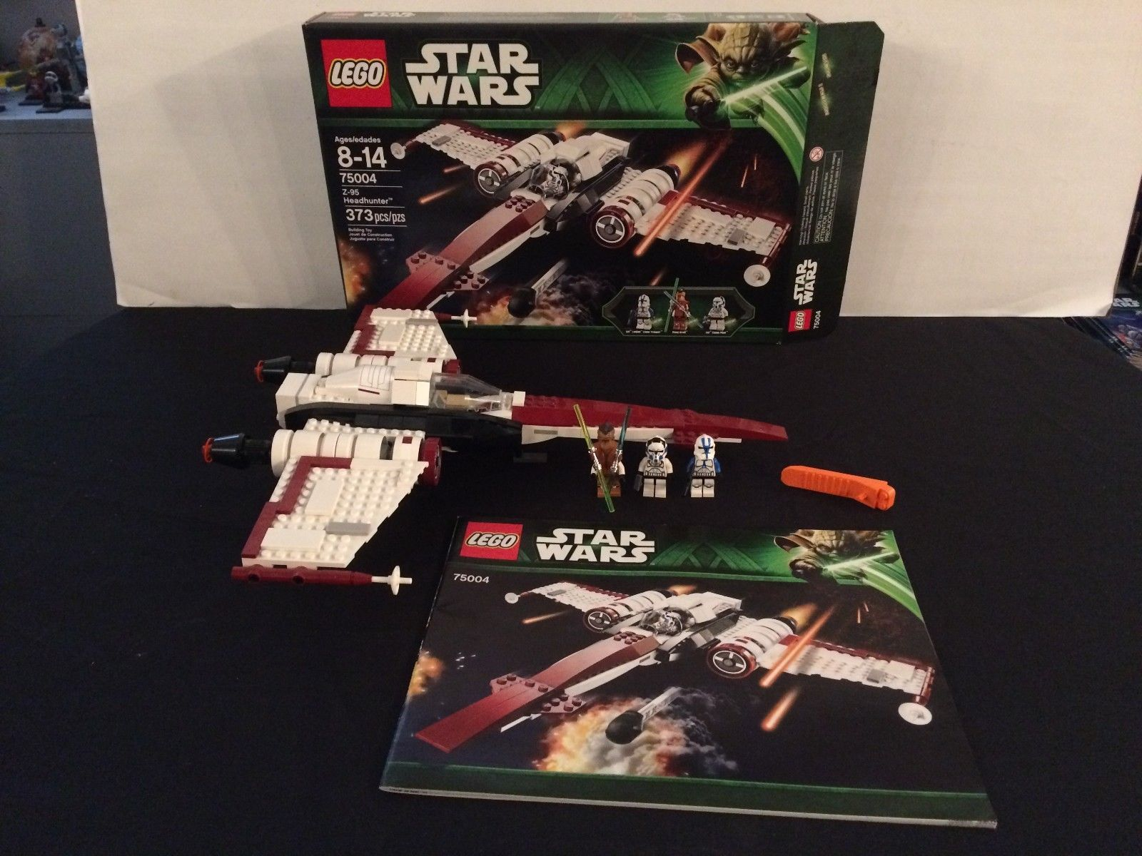 Lego Z 95 Headhunter 75004 100 Complete With Box Instructions