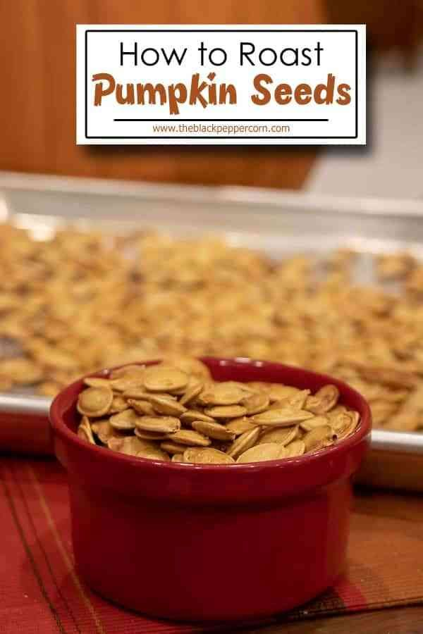 How to Roast Pumpkin Seeds Recipe #roastedpumpkinseeds