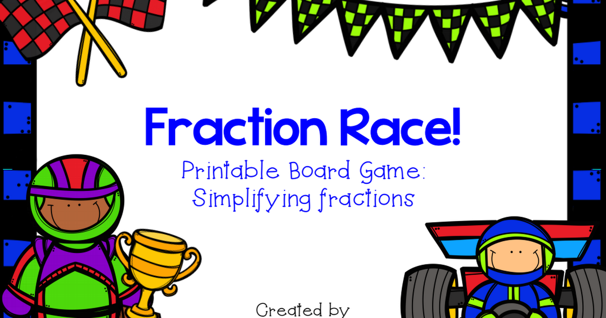 photo regarding Printable Fraction Game referred to as Fractions Board Activity Math Fractions, Printable board