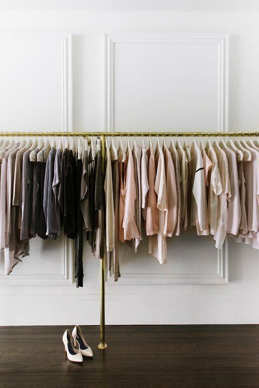 Delightful Ideas Para Un Closet Improvisado: Open ClosetsDream ClosetsClothing ...