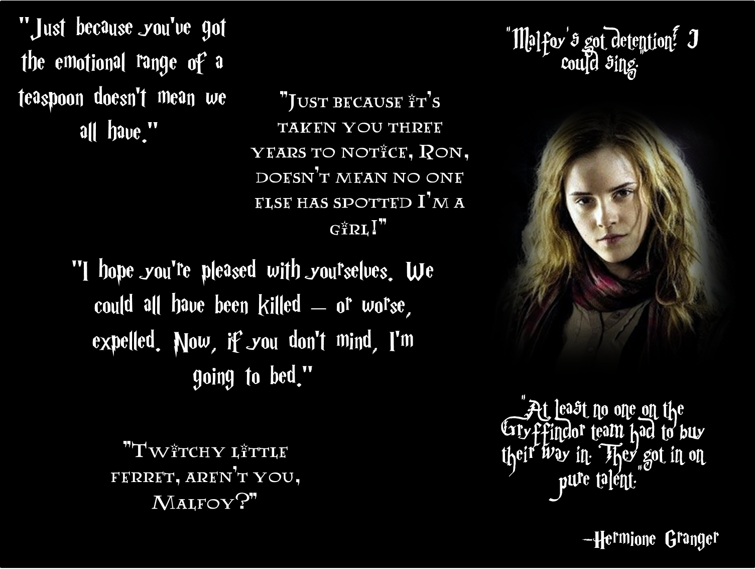 Hermione Granger Quotes Harry Potter Quotes Hermione Harry Potter Quotes Hermione Quotes