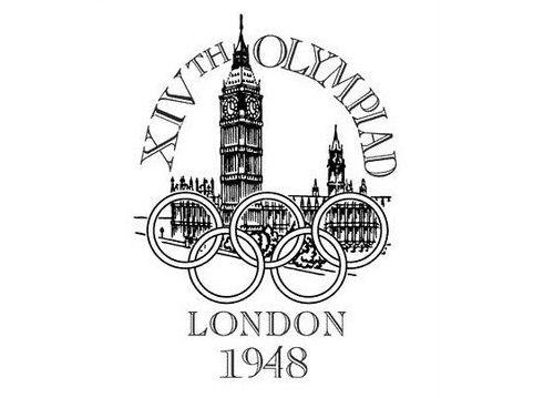 Logo oficial de los últimos Juegos que se han celebrado en Londres, los primeros de la postguerra.