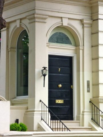 london black door - Google Search | Doors | Pinterest | Black door ...