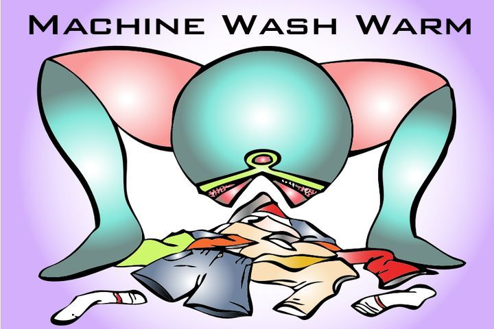Machine Wash Warm, an illustrated short story about a sentient washing machine with a hidden agenda.