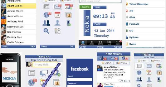 Tải Facebook màn hình 128x160 về điện thoại | Tải Facebook màn hình