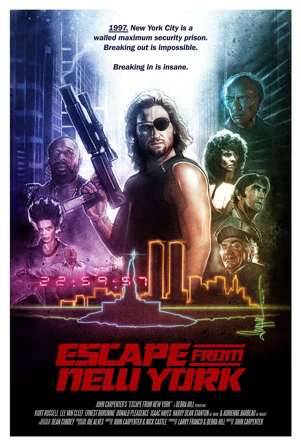 Escape From New York Movie Posters With Images Movie Posters