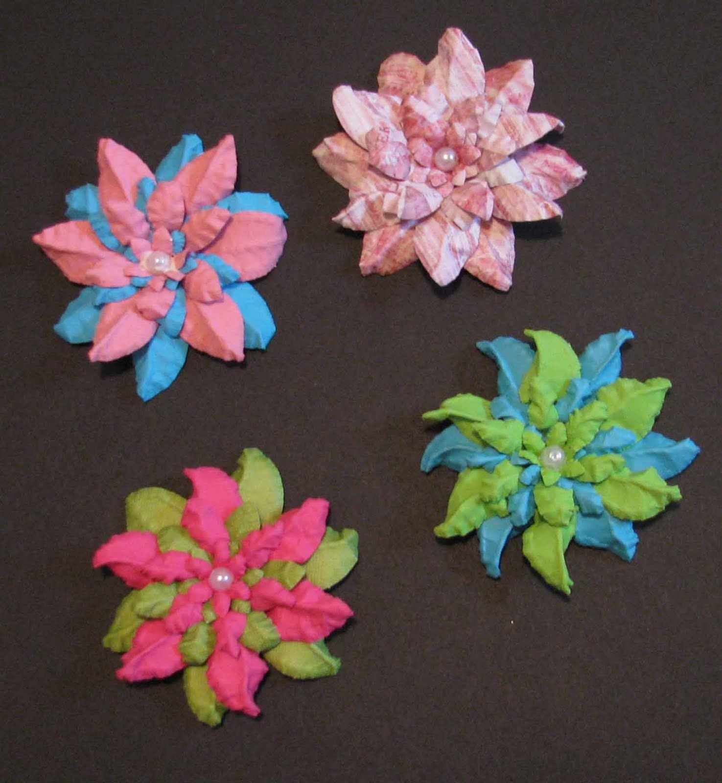 Make These Cute Crinkle Flowers From Paper Craft Ideas And Diy