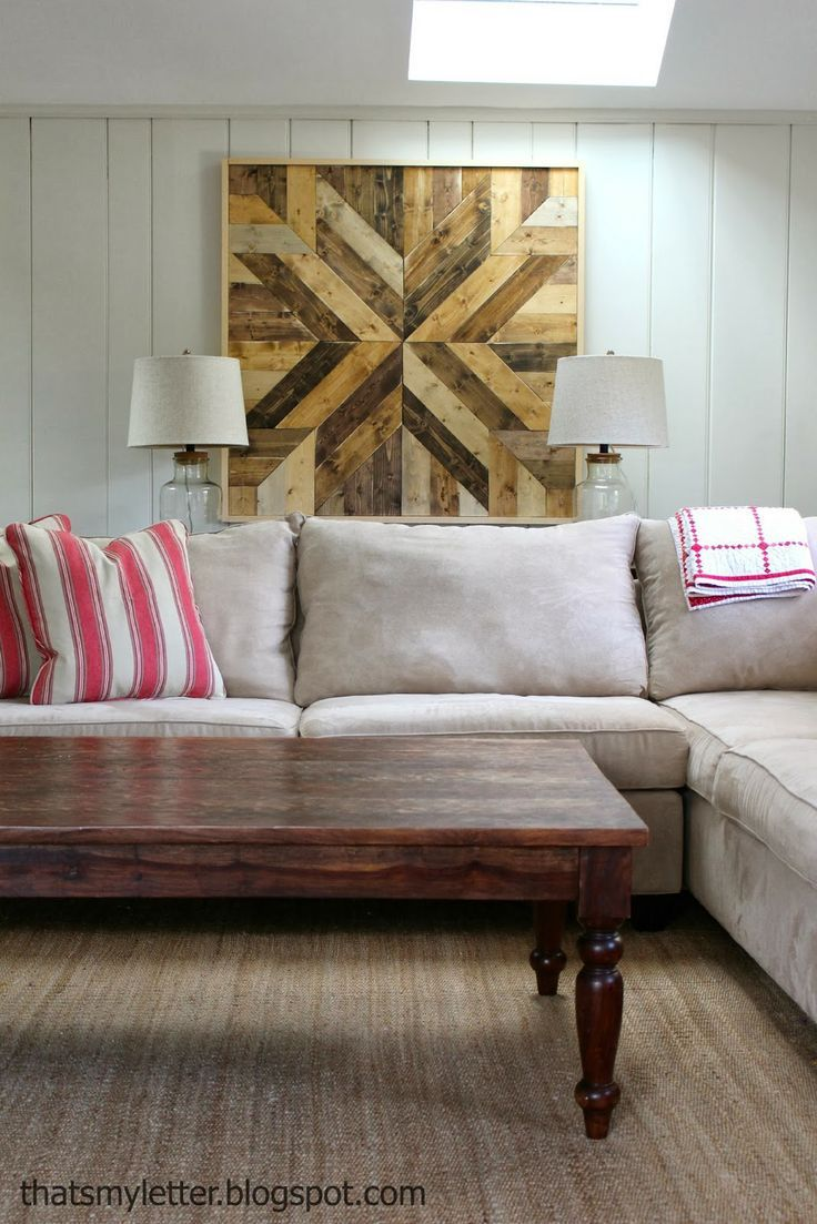 Diy Wood Planked Quilt With Images Wood Diy Diy