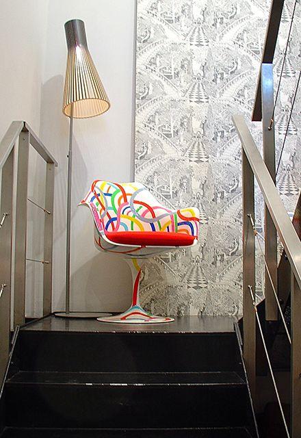 Fauteuil Saarinen / Sigmar Londres http://www.schiepan.com