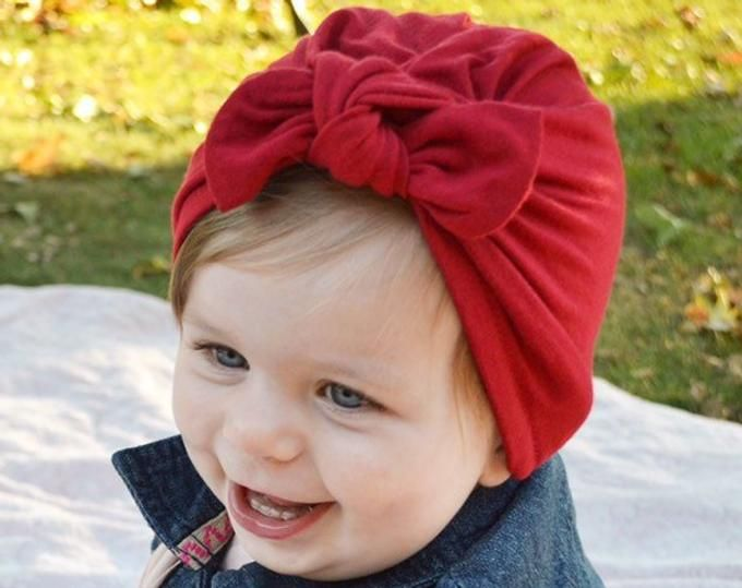 5193d436432 Coral Floral Baby Turban Baby Sun Hat Baby Girl Baby