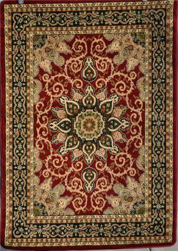 Burgundy Green Beige Black Beige 5x7 4 8x6 7 Isfahan Area Rug Oriental Carpet Large New 653 Persian Rugs Http Oriental Carpets Oriental Rug Persian Area Rugs