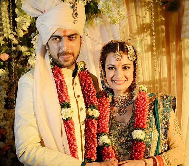 Bollywood Diva Dia Mirza Finally Tied The Knot With Her Long Time Boyfriend Sahil Sangha