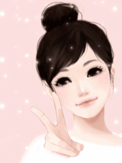 Wallpaper Kartun Korea Cantik