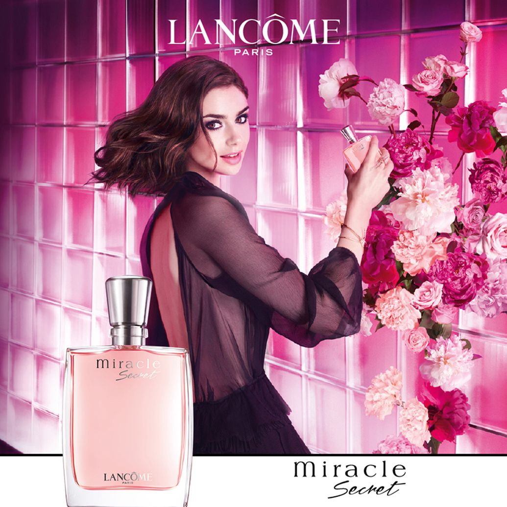 La nuova fragranza Miracle Secret di Lancome