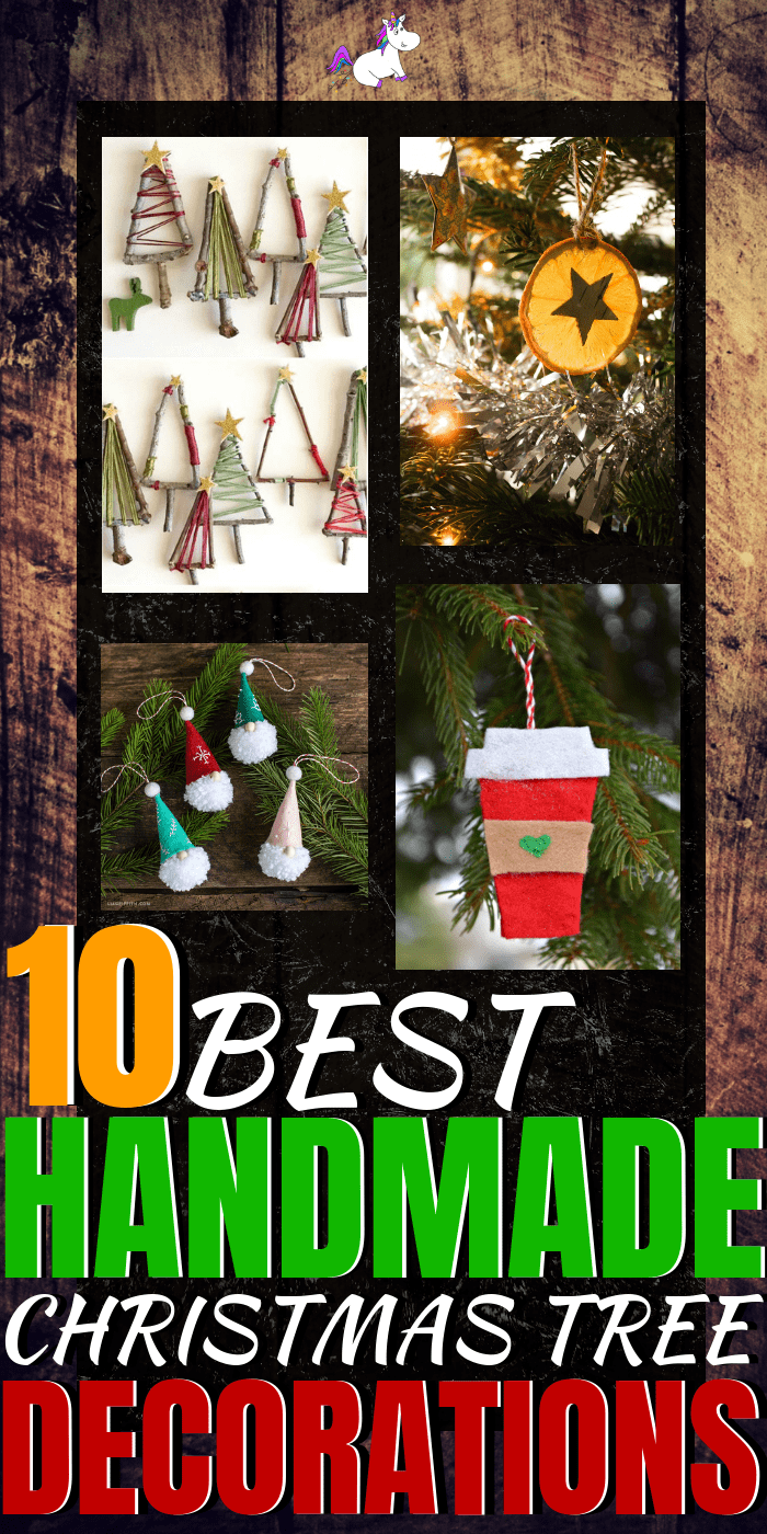 10 Diy Holiday Decorations To Make Your Christmas Tree Look