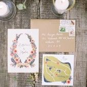 Intimate and Eclectic Real Wedding