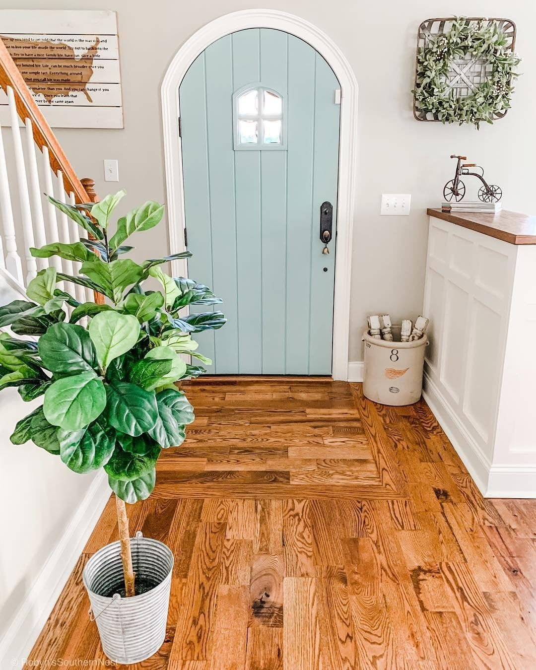 Better Homes Gardens On Instagram I Took A Risk By Painting Our Interior Door A Few Years Ago But I M So Glad I Did Wr Home Dream House Farmhouse Doors