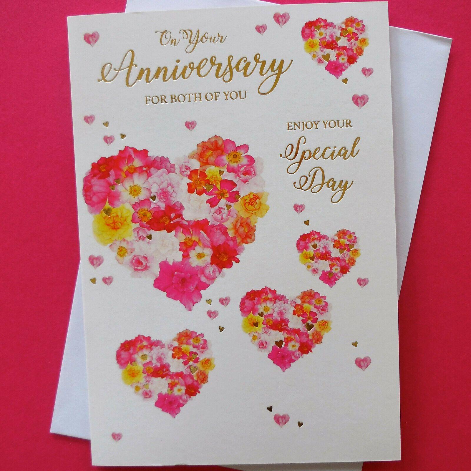 8 Best Anniversary Card Ebay Golden Wedding Anniversary Card Anniversary Cards For Husband Happy Anniversary Cards