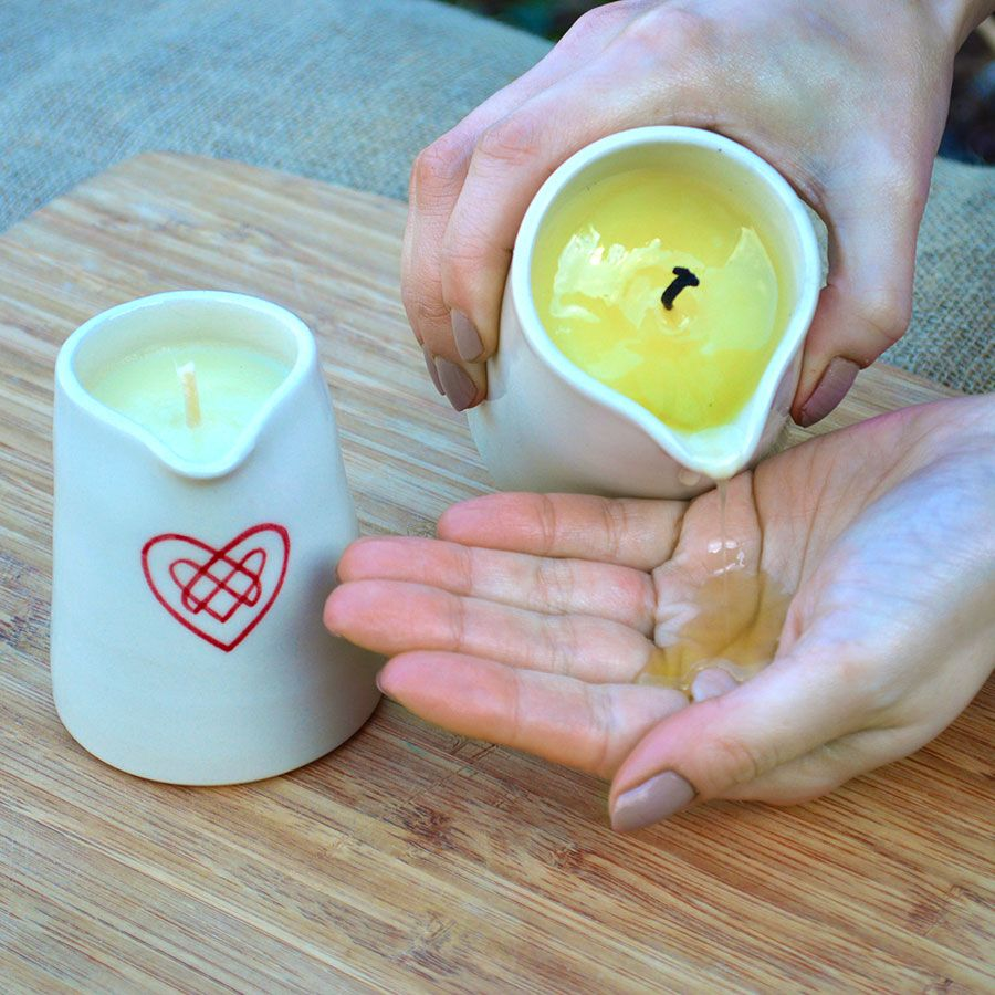 Massage /& Aromatherapy Candle