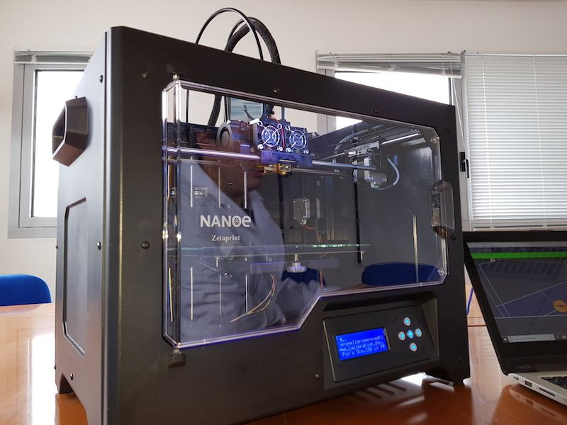 Franzosischer Hersteller Nanoe Stellt Mit Zetaprint Einen Desktop 3d Drucker Fur Den Metall Und Keramik 3d Druck Vor 3d Drucker Drucken 3d Druck